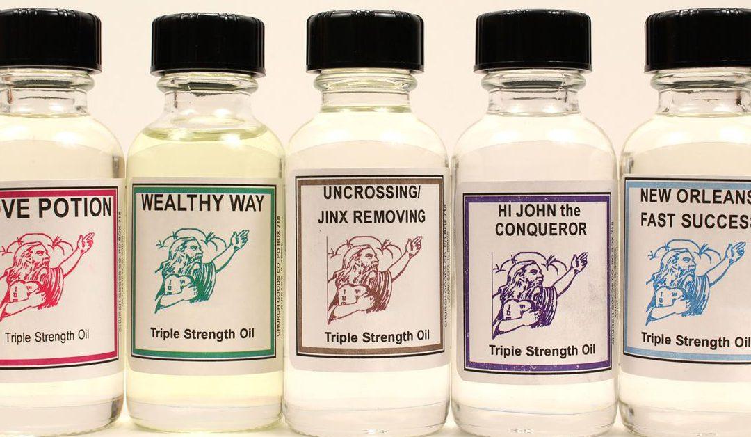 How to Use Spiritual Oils